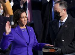 Kamala Harris sworn in as Vice-President of the United States