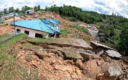 Landslide hits Kinabalu Park