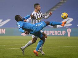 Ronaldo on target as Juventus earn Supercup win over Napoli
