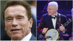 Actors Arnold Schwarzenegger and Steve Martin get Covid-19 vaccine