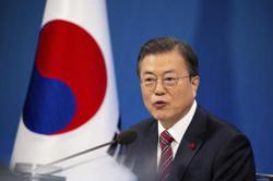 South Korea's President Moon: 'America is back'