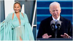 Chrissy Teigen is the only celebrity US President Joe Biden follows on Twitter