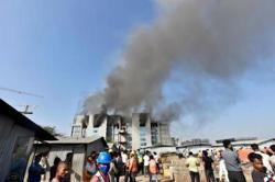 Fire at India vaccine plant; coronavirus drug production 'not affected'