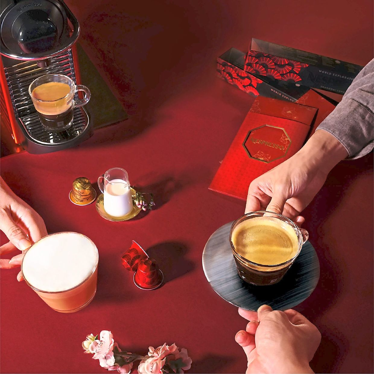 Nespresso's Shanghai Lungo is a distinctive light-roast blend that will please the palate with its berry notes.