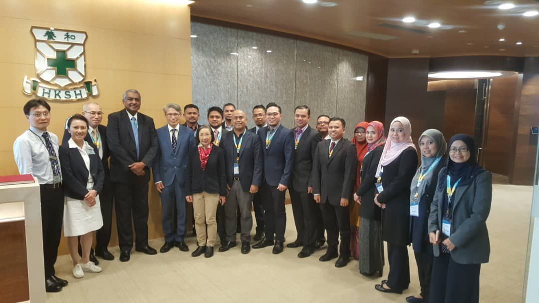 PHPN and Technical team during the fact-finding mission at the Hong Kong Sanatorium and Hospital.