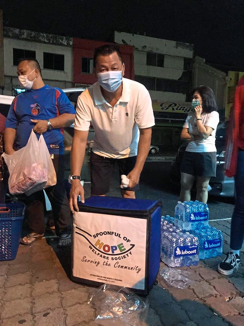 Lim Chin Chye has been a volunteer with Spoonful of Hope for close to five years.
