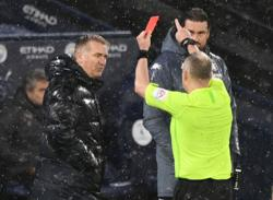 Villa's Smith charged by FA after red card in Man City loss