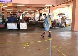 Market safe to visit after sanitisation