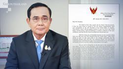 Thai PM congratulates Biden on inauguration, calls for global unity
