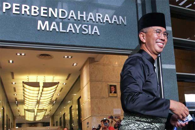 Finance Minister tengku Zafrul