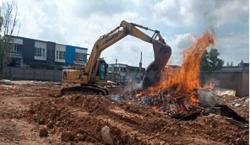 Open burning hazard on the rise