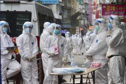 Hong Kong locks down thousands for compulsory Covid-19 testing