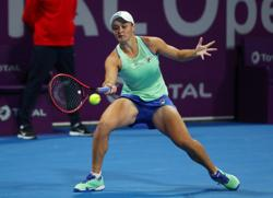 Barty itching to get started at Australian Open