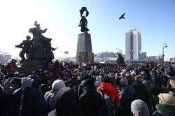 Mobile services in Russia suffer outages as police disperse anti-Kremlin protesters - monitoring site