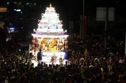 NSC allows passage of Batu Caves Thaipusam chariot, no stops allowed and limited to 10 people