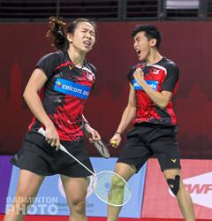 Pang Ron-Yee See shown exit by experienced South Korean pair