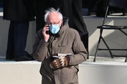 Bernie Sanders mitten maker marvels over 15 minutes of fame