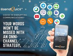 sendQuick offers full suite of solutions to solve communication issues