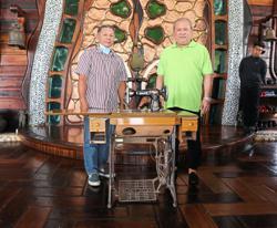 Sultan saves antique sewing machine