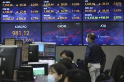Most Asian markets rise with eyes on US stimulus push