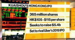 China's Kuaishou aims to raise up to US$5.42b in HK IPO