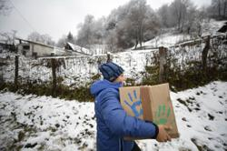 Romania activist urges people to do something good every day