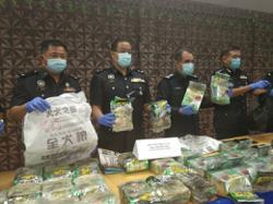 International drug syndicate busted in Melaka, RM2mil in drugs seized