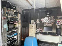 Police: No important documents ruined in NCID fire