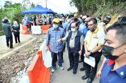 RM150mil to repair roads, bridges damaged by floods in Sabah