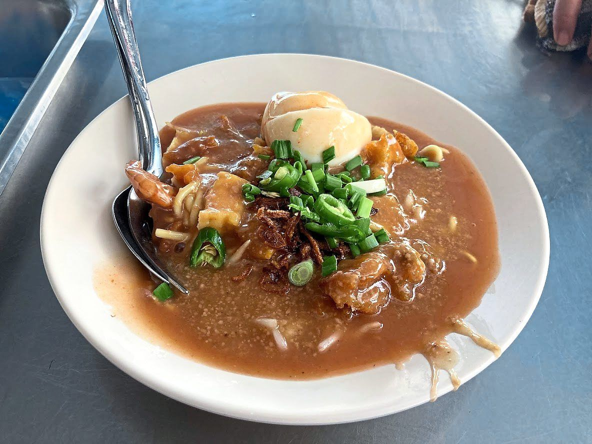 You can't leave Teluk Intan without trying its mouth-watering mee rebus.