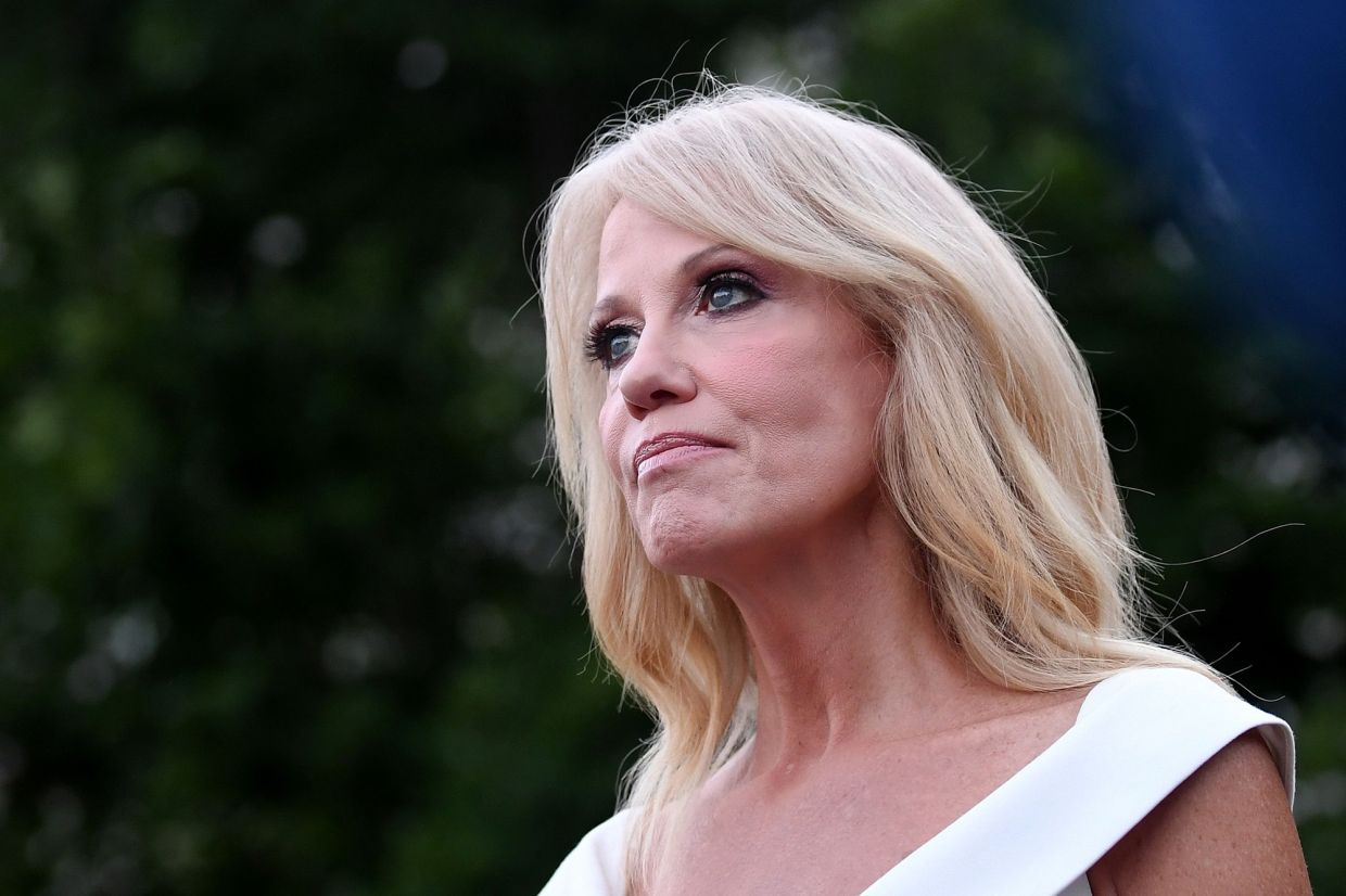 Post of topless photo of Kellyanne Conway's daughter prompts probe