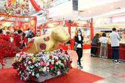 Mall keeps festive spirit alive despite pandemic