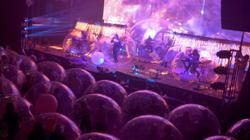 Rock band Flaming Lips holds concerts in 'protective bubbles'