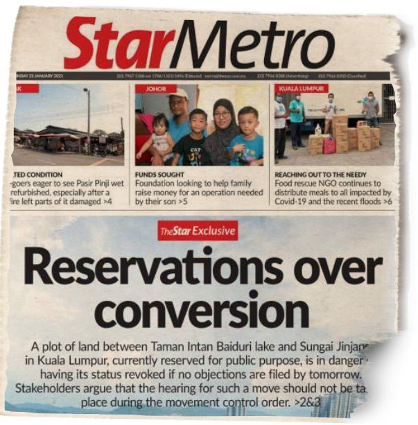 StarMetro's report on Monday, Jan 25.