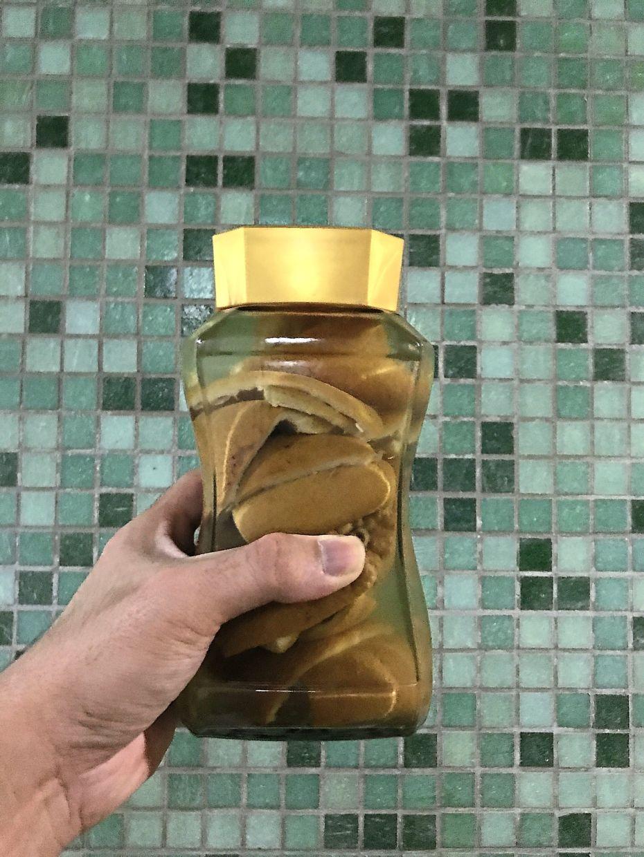 Lee's multi-purpose cleaning solution made of citrus peel infused in vinegar.