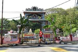 Quiet start to Thaipusam