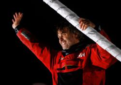 Frenchman Bestaven wins Vendee Globe race after time bonus
