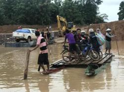 Housing for southern Lao flood victims to be ready in 2021