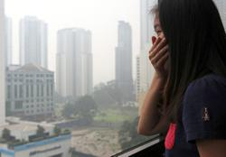 When air pollution blinds us