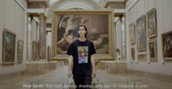 British graphic designer Peter Saville and Louvre Museum launch fashion series