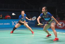 Two Malaysian pairs in semis, both face Koreans