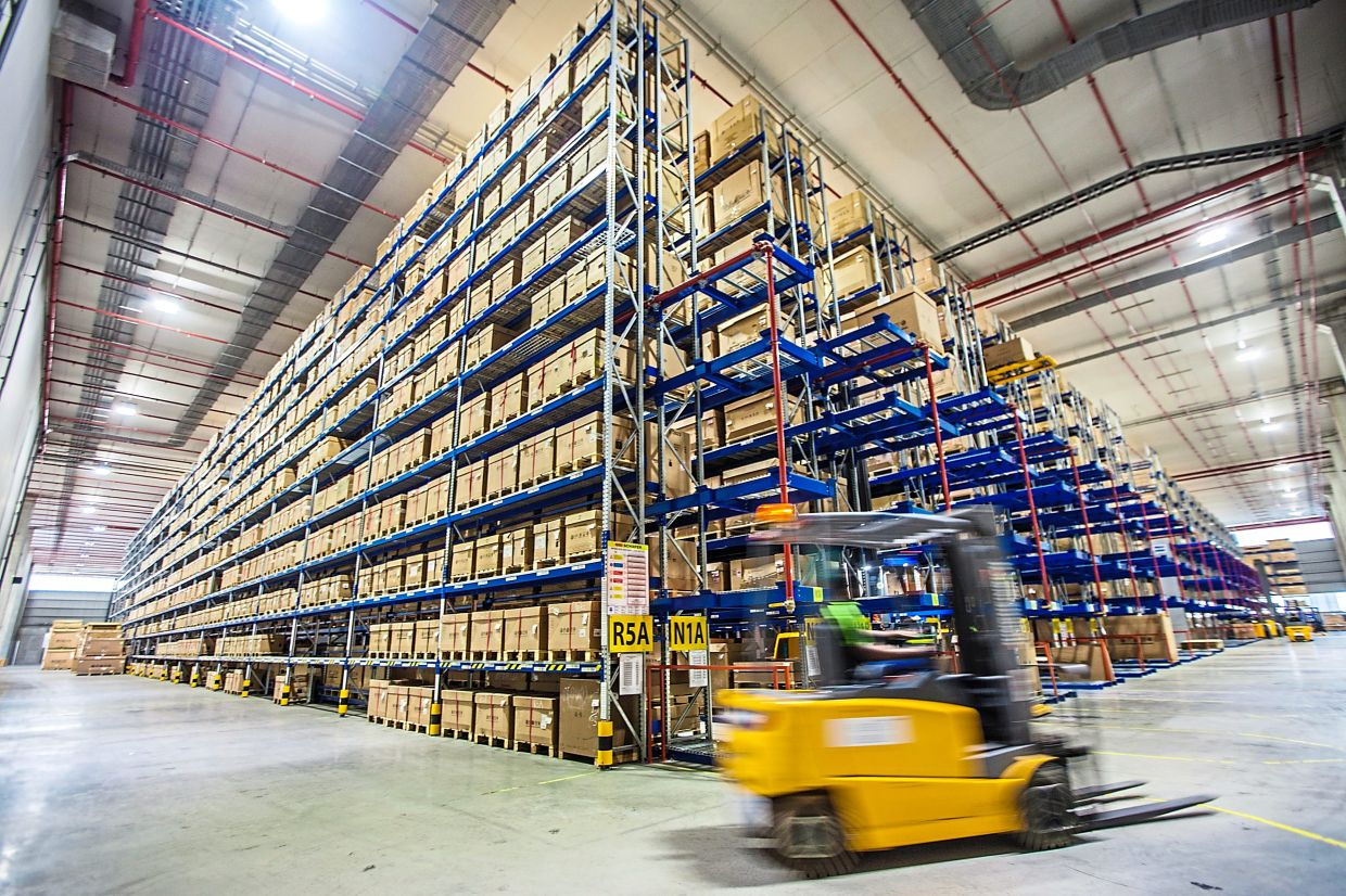 Hot space: Volkswagen Group's new regional parts distribution centre in Johor. The industrial sector is set to continue being the bright spot in Malaysia's property market, with regional logistics and warehousing being one of the primary prospects in the long-term.