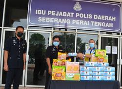 Show of goodwill for hardworking police