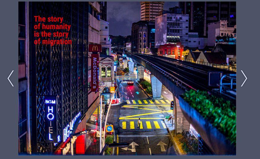 Iranian photographer Amin Kamrani's view of Kuala Lumpur. Photo: Handout