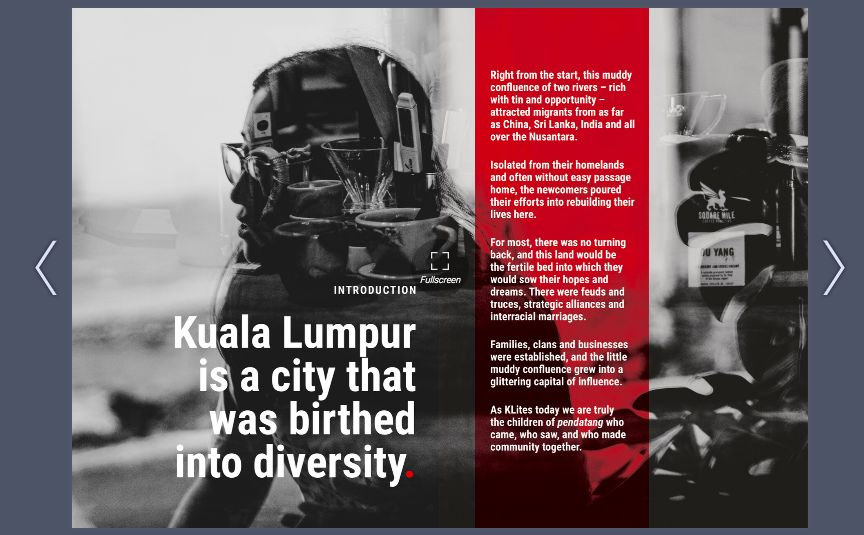 This online photo zine project aims to spark meaningful dialogue betweens Malaysians and the migrant community in KL. Photo: Handout