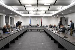 U.N. lists candidates to run Libya's transitional government until this year's vote