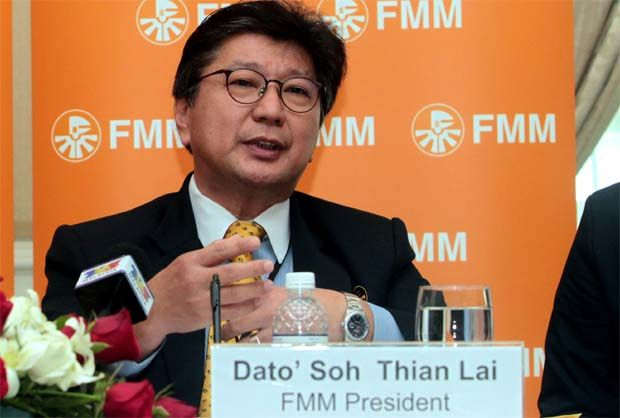 "With about 30% of the Covid-19 clusters coming from the manufacturing sector, the industry is ""deeply alarmed by the warning from the Health Ministry that the country's health system is at a breaking point"", said Federation of Malaysian Manufacturers president Tan Sri Soh Thian Lai."