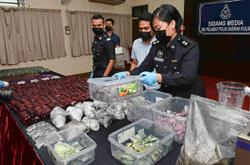 Four nabbed and drugs worth RM3.67mil seized
