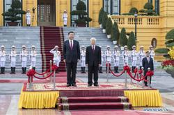 Xi calls for strengthened Vietnam ties