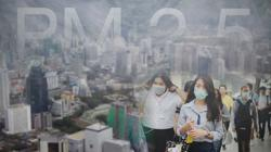 Pollution in and around Bangkok hits unsafe levels